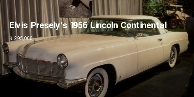 elvis preselys 1956 lincoln continental