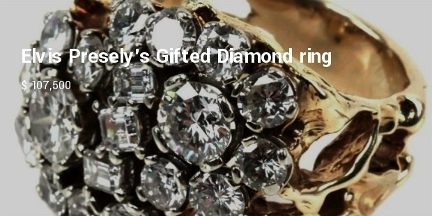 elvis preselys gifted diamond ring