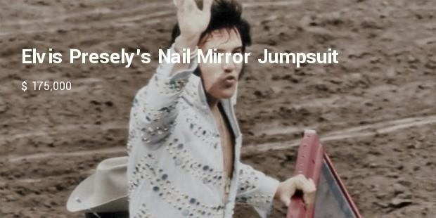 elvis preselys nail mirror jumpsuit