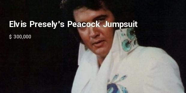 elvis preselys peacock jumpsuit