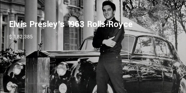 elvis presleys 1963 rolls royce