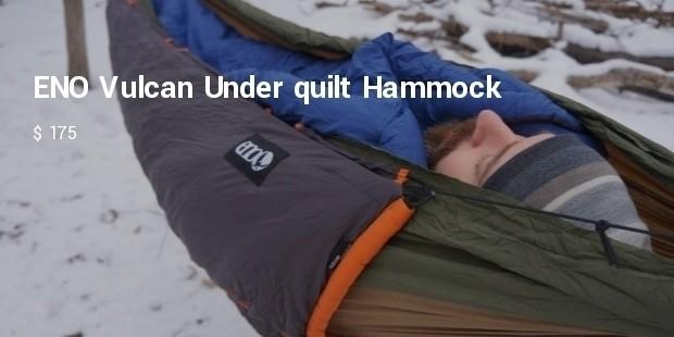 eno vulcan under quilt hammock