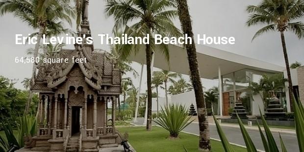 eric levines thailand beach house