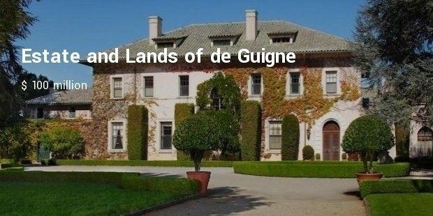 estate and lands of de guigne