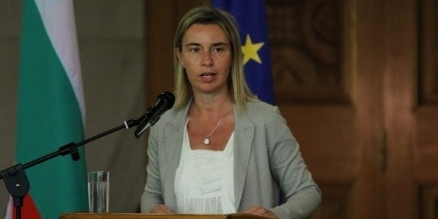 eu foreign policy chief federica mogherini speaks at the opening of the annual conference of bulgaria s ambassadors