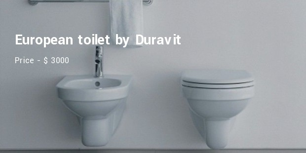 european toilet by duravit