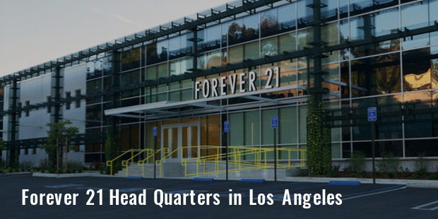 f21 head quarters los angeles