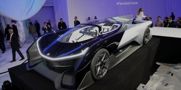 faraday future electri car