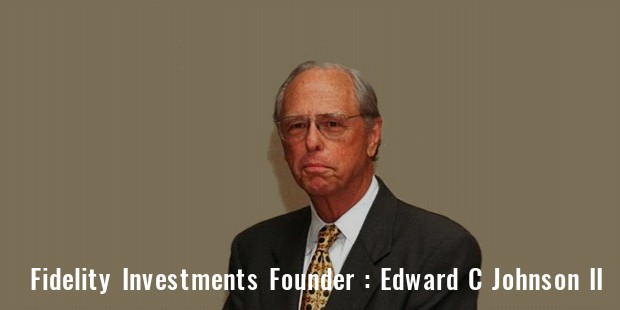 fedelity investments founder