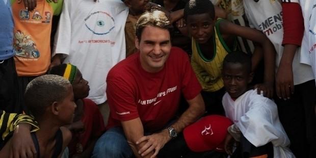 federer charity