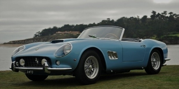ferrari 250 gt swb california spider of 1961