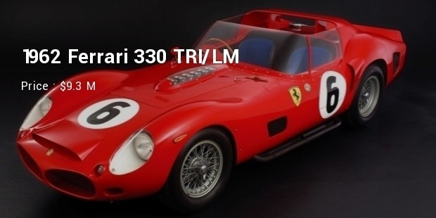 1962 Ferrari 330 TRI/LM