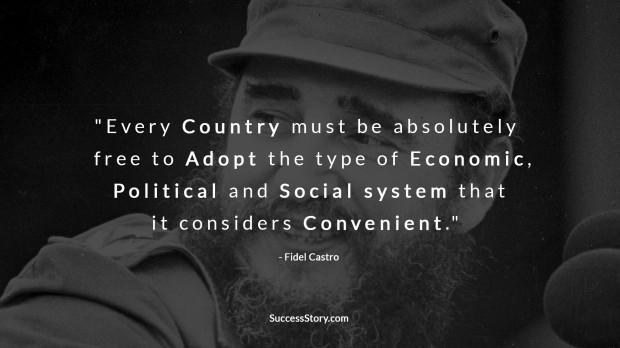 fidel castro communism