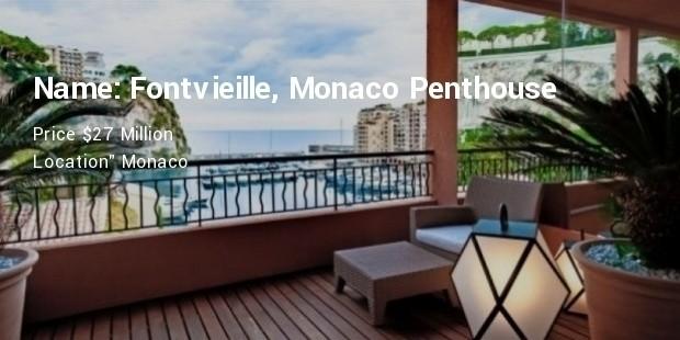 Fontvieille, Monaco Penthouse
