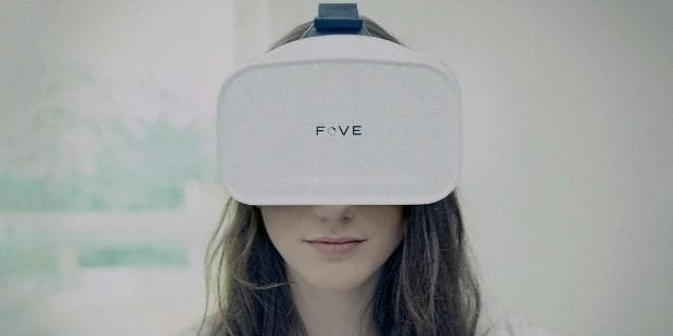 fove eye tracking vr headset