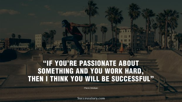 If you're passionate