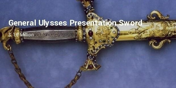 general ulysses presentation sword