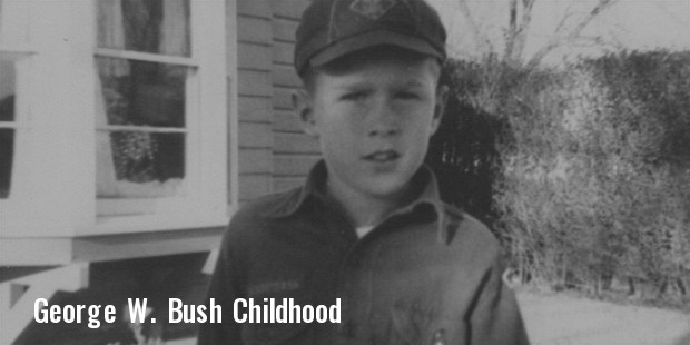 george w bush childhood