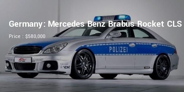 germany mercedes benz brabus rocket cls