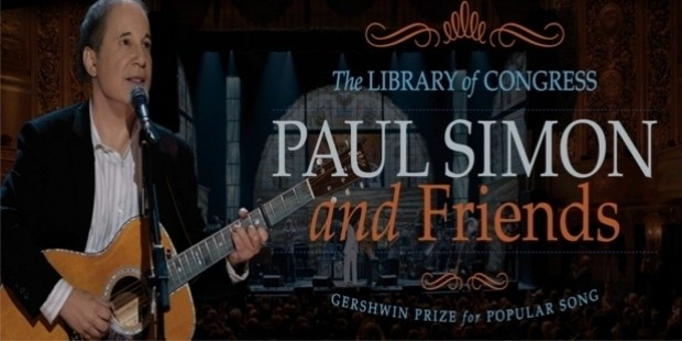 geshwin prize paul simon