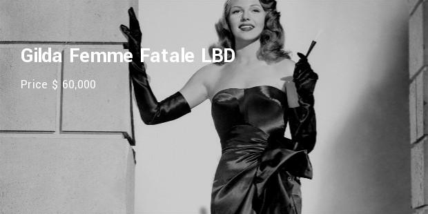 gilda femme fatale lbd