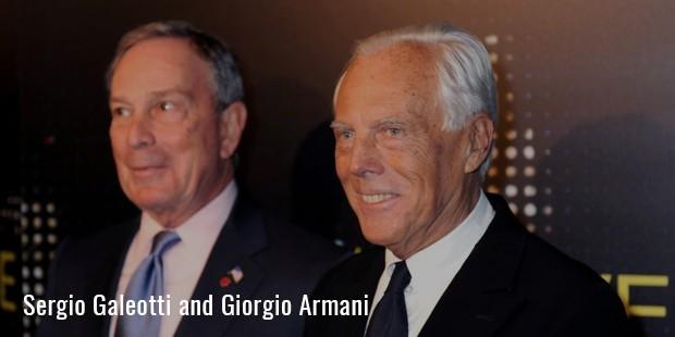 giorgio armani and sergio galeotti