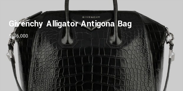 givenchy crocodile antigona bag