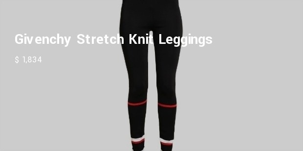 givenchy stretch knit leggings