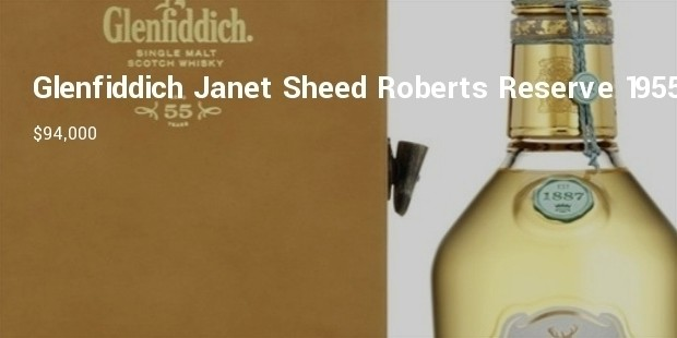 glenfiddich janet sheed roberts reserve collection