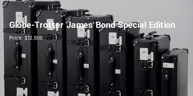 globe trotter james bond xl collection special edition series