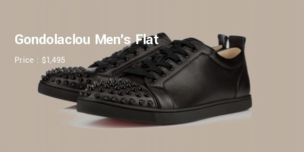 c6eb1f7ff7c The Gondolaclou Men s Flat by Louboutin is stylishly designed and priced at  around  1