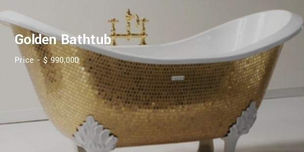 golden bathtub