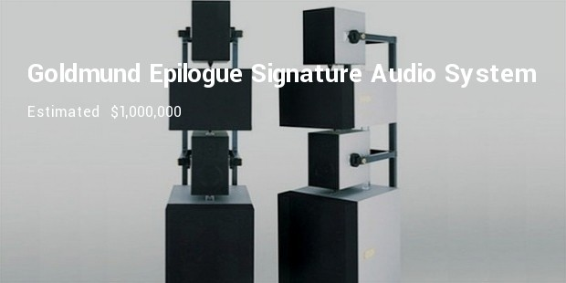 goldmund epilogue signature audio system