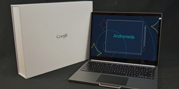 google laptop andromeda