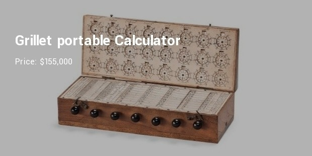 grillet portable calculator