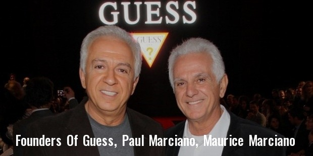 guess founder maurice