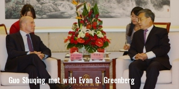 guo shuqing met with ace group chairman and chief executive officer evan g