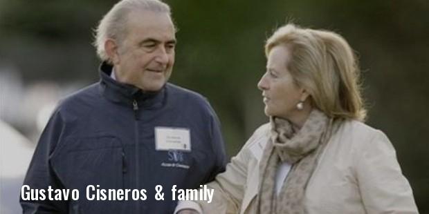 gustavo cisneros   family