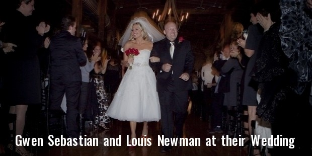 gwen sebastian and louis newman