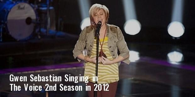 gwen sebastian voice 2012