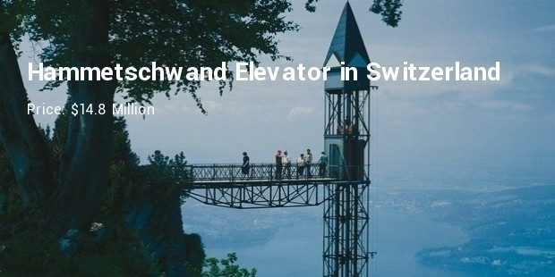 hammetschwand elevator in switzerland
