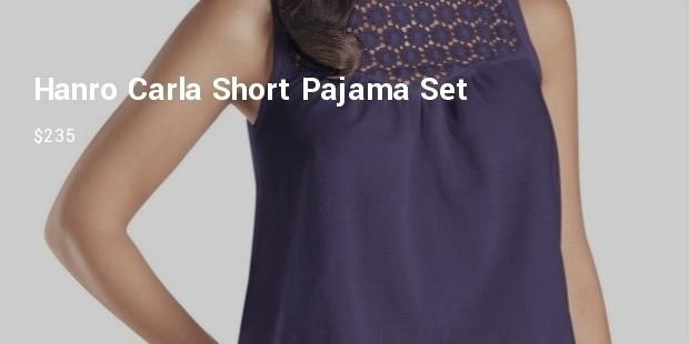 hanro2 carla short pajama set
