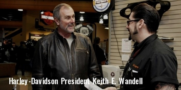 harley davidson president and chief executive officer keith e