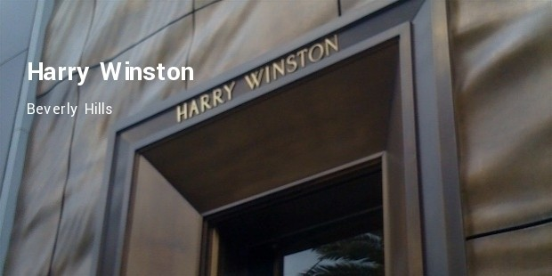 harry winston, beverly hills