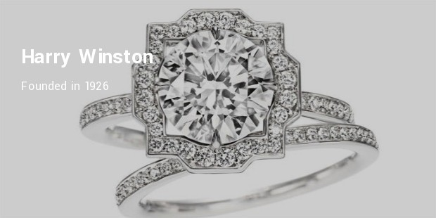 while speaking about the designer and quintessential engagement rings harry winston stands as a big name engagement rings from this brand are typically - Wedding Ring Brands