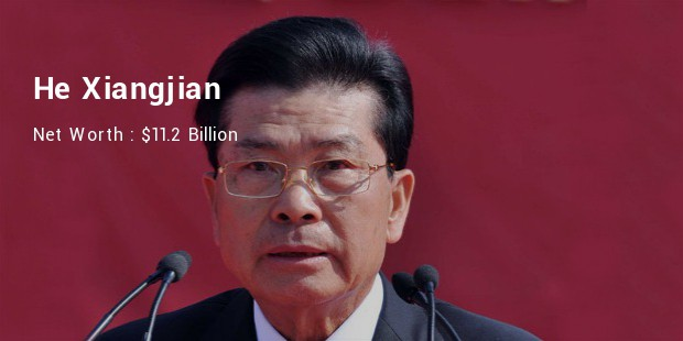He Xiangjian Net Worth