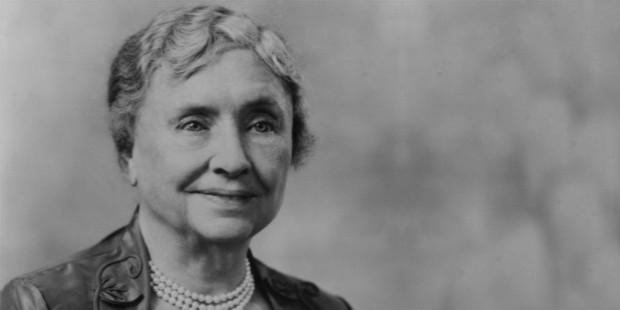 helen keller saying on depression