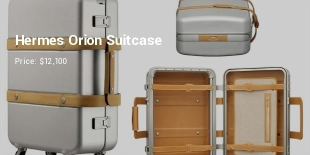 hermes orion suitcase selectism most expensive