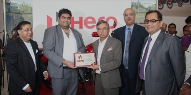 hero motocorp awards