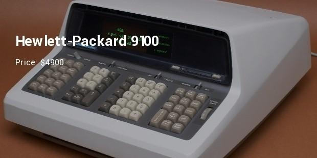 hewlett packard 9100